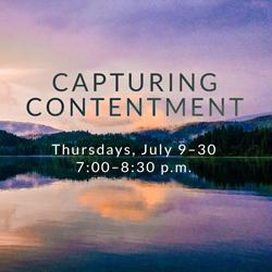 Capturing Contentment
