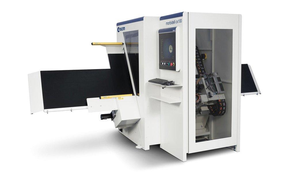 Taladro múltiple automático - Morbidelli cx100